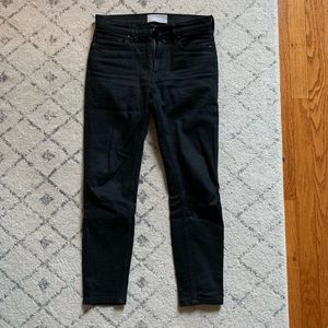 Everlane mid rise stay black jean 25 ankle